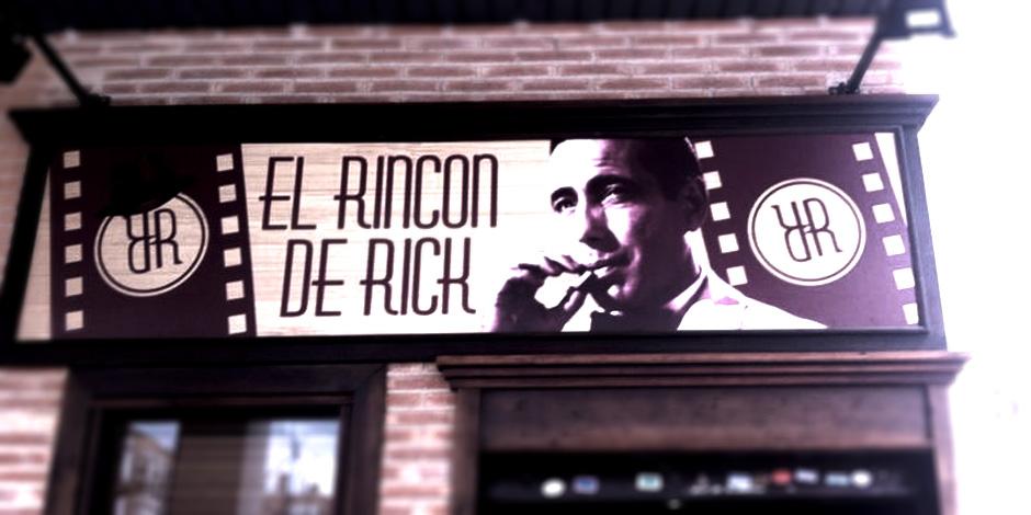El rincón de Rick, comida de cine