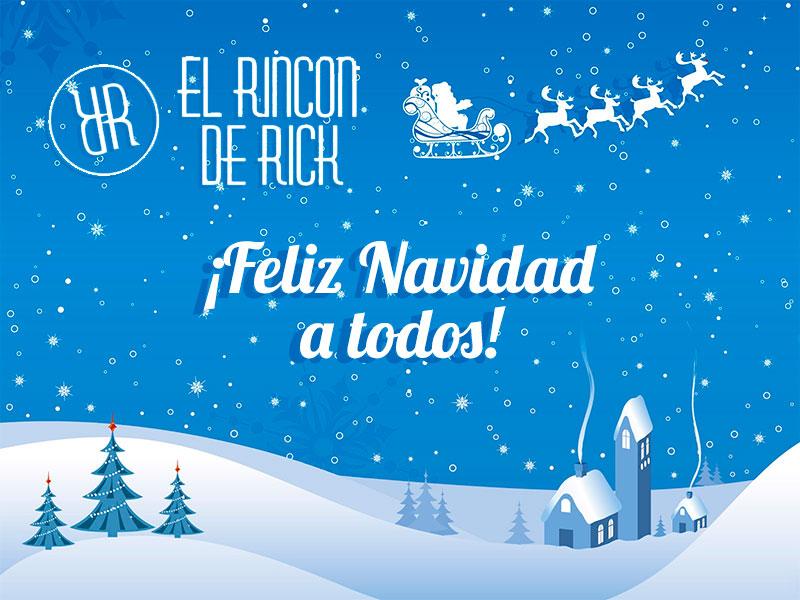 Feliz Navidad a todos!   El rincon de Rick